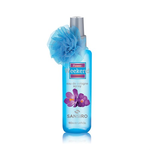 Sansiro Flower Weekend Sprey Kolonya 160ml